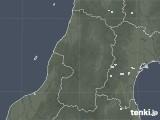 2020年10月02日の山形県の雨雲レーダー