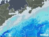 2020年10月09日の滋賀県の雨雲レーダー