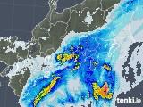 雨雲レーダー(2020年10月10日)