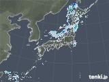 2020年10月12日の雨雲レーダー