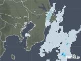 2020年10月12日の千葉県の雨雲レーダー
