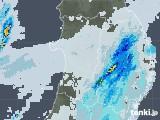 2020年10月12日の秋田県の雨雲レーダー