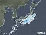 雨雲レーダー(2020年10月19日)