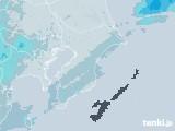 2020年10月19日の千葉県の雨雲レーダー