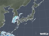 2020年10月21日の雨雲レーダー