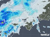 雨雲レーダー(2020年10月22日)