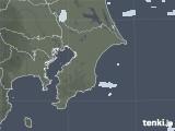 2020年10月22日の千葉県の雨雲レーダー