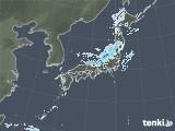 2020年10月24日の雨雲レーダー
