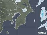 2020年10月24日の千葉県の雨雲レーダー