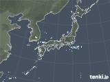 雨雲レーダー(2020年10月27日)
