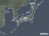 2020年10月28日の雨雲レーダー