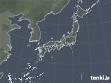 雨雲レーダー(2020年10月31日)