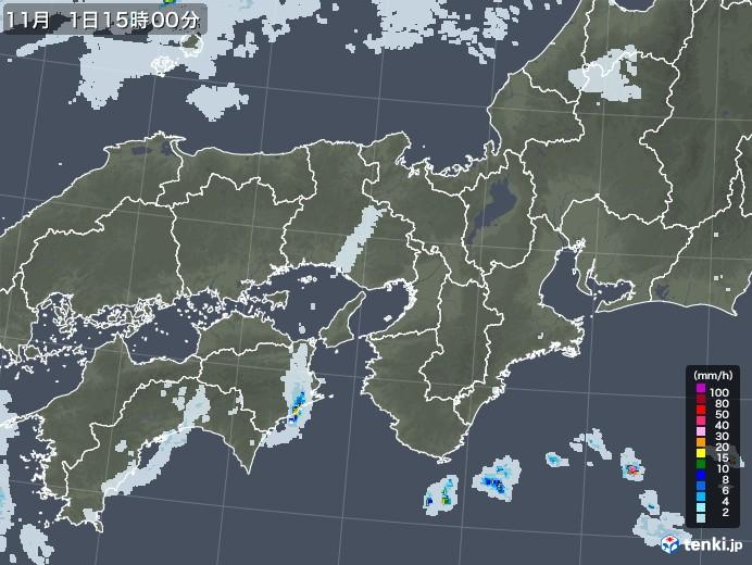 近畿 地方 雨雲 レーダー