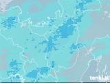 2020年11月02日の滋賀県の雨雲レーダー