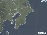 2020年11月06日の千葉県の雨雲レーダー