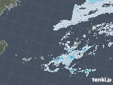 2020年11月08日の沖縄地方の雨雲レーダー