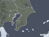 2020年11月08日の千葉県の雨雲レーダー