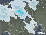2020年11月09日の滋賀県の雨雲レーダー