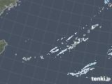 2020年11月11日の沖縄地方の雨雲レーダー