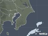 2020年11月12日の千葉県の雨雲レーダー