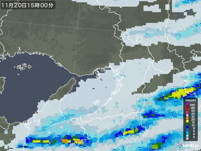 大阪 雨雲 レーダー