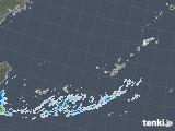 2020年11月23日の沖縄地方の雨雲レーダー
