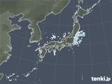 雨雲レーダー(2020年11月25日)