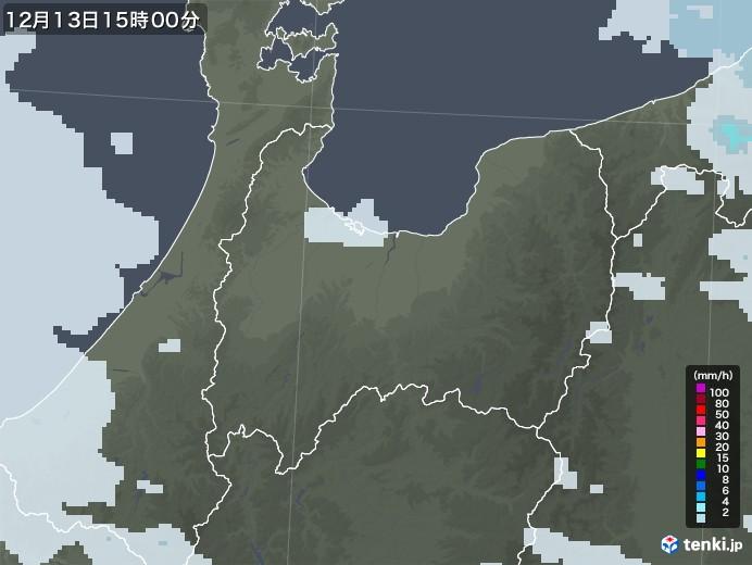 富山 雨雲 レーダー