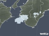 2020年12月27日の和歌山県の雨雲レーダー