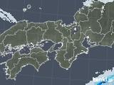 2020年12月28日の近畿地方の雨雲レーダー