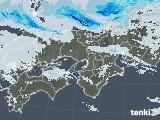 2020年12月30日の近畿地方の雨雲レーダー