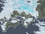 2020年12月31日の近畿地方の雨雲レーダー