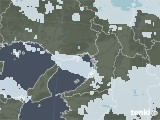 2020年12月31日の大阪府の雨雲レーダー