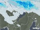 2021年01月02日の滋賀県の雨雲レーダー