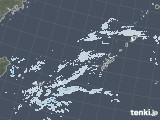 2021年01月03日の沖縄地方の雨雲レーダー
