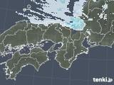 2021年01月03日の近畿地方の雨雲レーダー