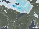 2021年01月03日の滋賀県の雨雲レーダー