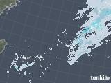 2021年01月05日の沖縄地方の雨雲レーダー