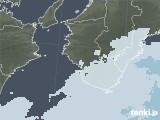 2021年01月05日の和歌山県の雨雲レーダー