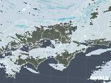 2021年01月07日の近畿地方の雨雲レーダー
