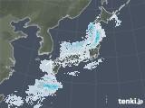 雨雲レーダー(2021年01月07日)