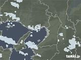 2021年01月09日の大阪府の雨雲レーダー