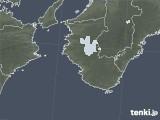 2021年01月10日の和歌山県の雨雲レーダー