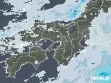 2021年01月12日の近畿地方の雨雲レーダー