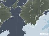 2021年01月12日の和歌山県の雨雲レーダー