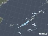 2021年01月15日の沖縄地方の雨雲レーダー