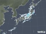 雨雲レーダー(2021年01月16日)