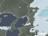 2021年01月16日の大阪府の雨雲レーダー