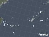 2021年01月20日の沖縄地方の雨雲レーダー