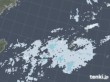 2021年01月21日の沖縄地方の雨雲レーダー